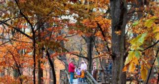 10个欣赏秋叶的地方,内布拉斯加州奥马哈附近